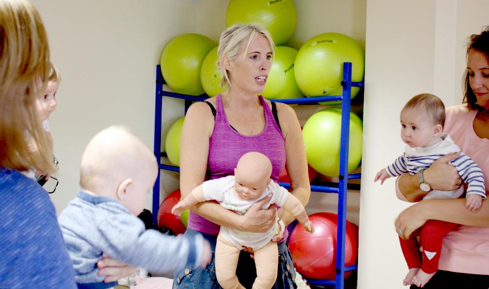 Baby Yoga & Massage Teacher training course